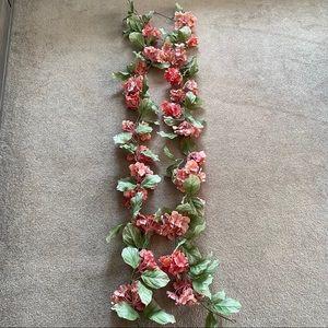 Ashland 6 ft chain hydrangea garland x2
